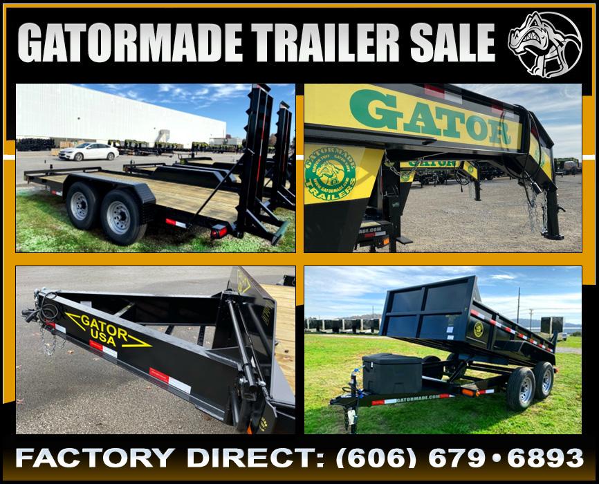 Gatormade Trailers On Sale